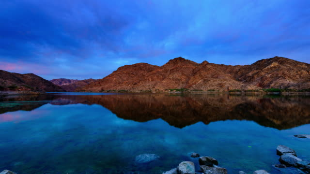 colorado river in the morning - red rock video stock e b–roll