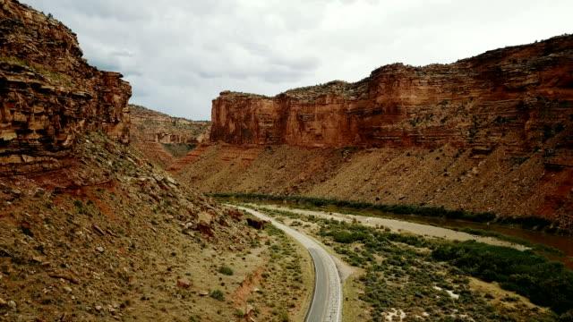 Colorado river valley in Utah