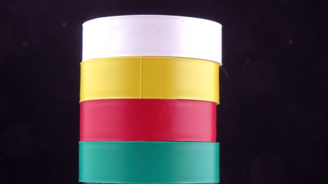 Colored electrical tape is different video