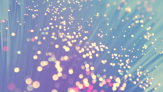 Colored Fiber Optics video
