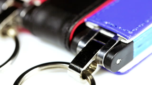 Colored flash drives video