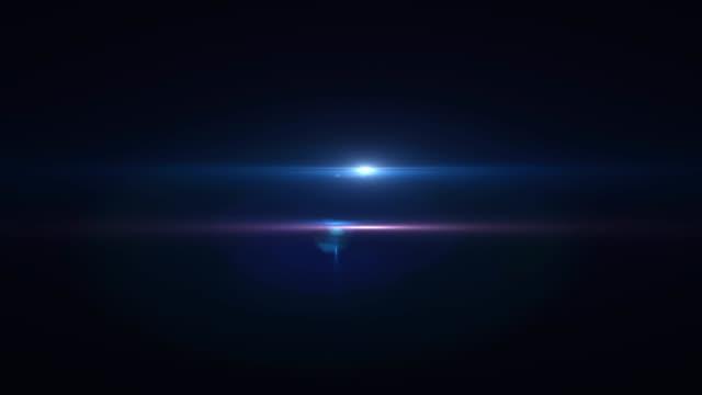 vidéos et rushes de faits saillants colorés en mouvement sur un fond noir hd 1920x1080 - halo lumineux