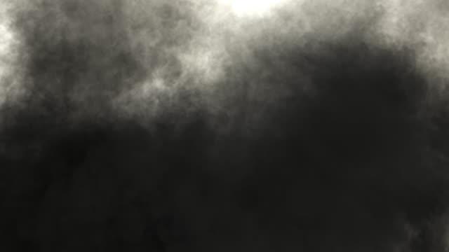 farbige tinte breitet sich in wasser / farbigen rauch, wischte rahmen von oben nach unten. - giftstoff stock-videos und b-roll-filmmaterial