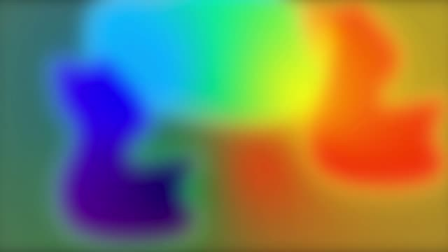 colored neon gradient moving abstract blurred background colors change depending on the position creating smooth color transitions purple pink blue ultraviolet - sfondo multicolore video stock e b–roll