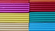 istock Colored pieces of plasticine - close shot 1249454667