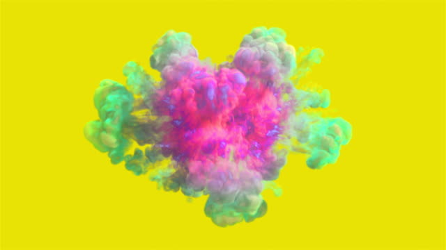 Colored smoke explosion High quality video of colored smoke explosion in 4K rainbow stock videos & royalty-free footage