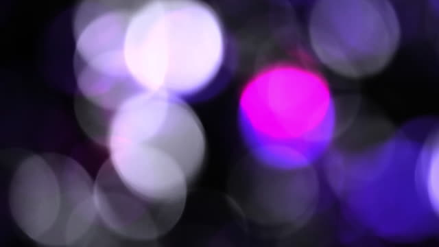 Colored spinning lights video