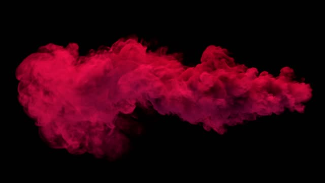 Colored torch smoke. Separated on pure black background, contains alpha channel. cycle vehicle stock videos & royalty-free footage
