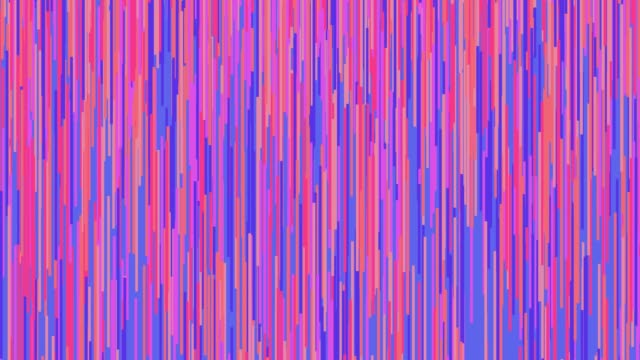 Colorful abstract background with moving vertical lines 2D animation