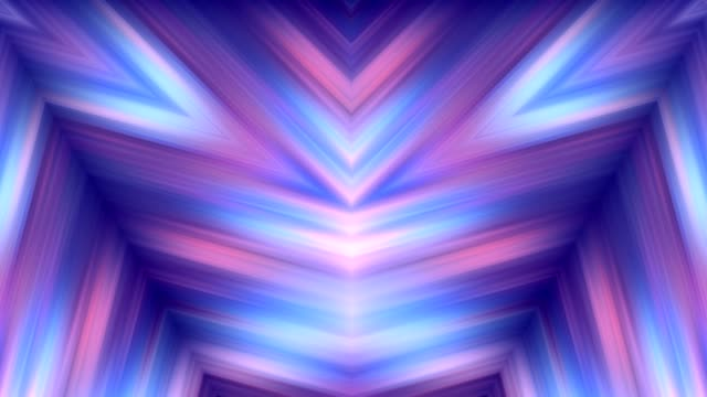Colorful abstract backgrounds in kaleidoscope motion video
