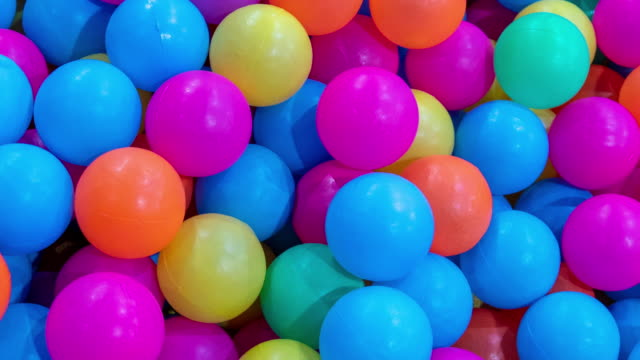 Colorful balls Colorful balls,digital enhagement large group of objects stock videos & royalty-free footage