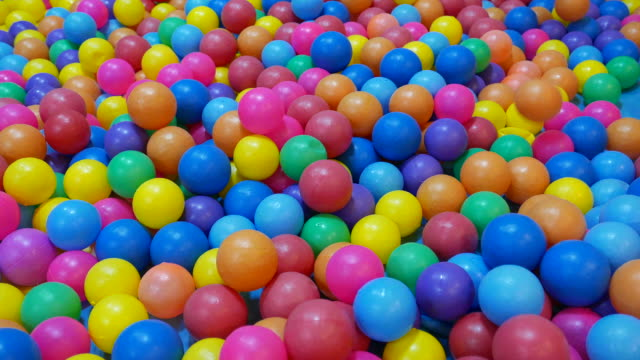 Colorful balls video