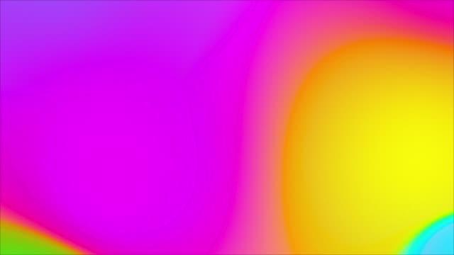 カラフルな明るい高速移動グラデーションプリズムの背景 - 玉虫色点の映像素材/bロール