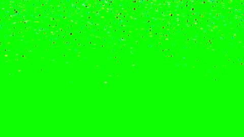 bunte konfetti fallen - konfetti stock-videos und b-roll-filmmaterial