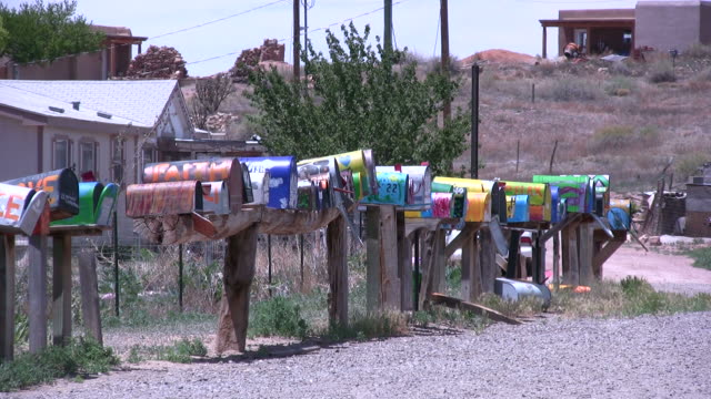 (HD1080i) Colorful Country Mailboxes video
