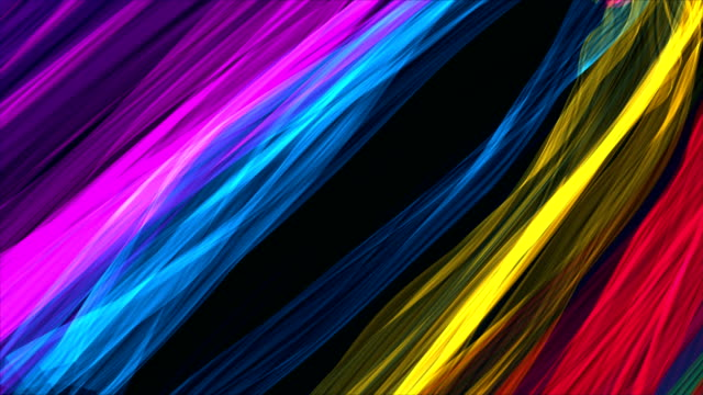 Colorful Distorted Ribbons Backgrounds