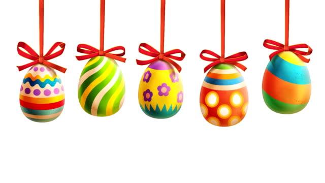 Bunte Ostern Eier mit Rüschen – Video