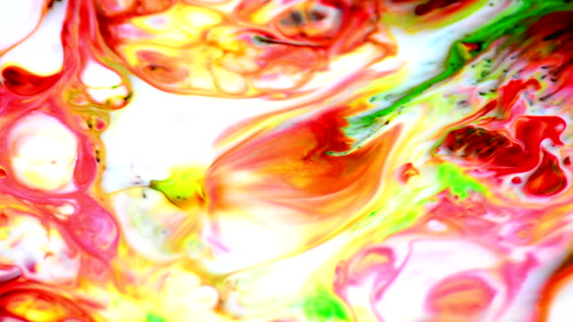 Colorful explosion Colorful explosion (HD) expressionism stock videos & royalty-free footage