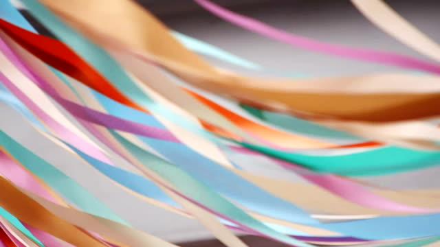 Colorful Flowing Ribbons video