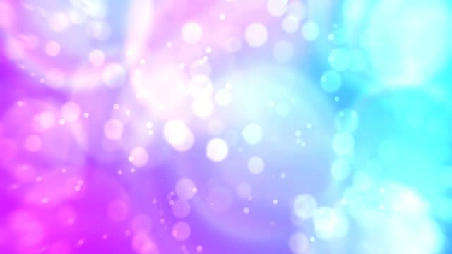 カラフルなホログラフィックグラデーション。マルチカラーグラデーションの抽象的な虹の背景。現代のループアニメーション。 - レインボー点の映像素材/bロール