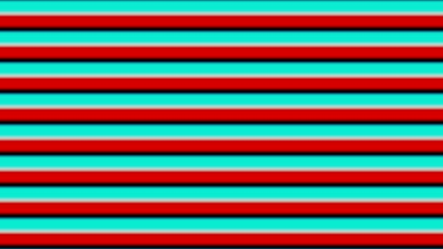 colorful lines pattern video