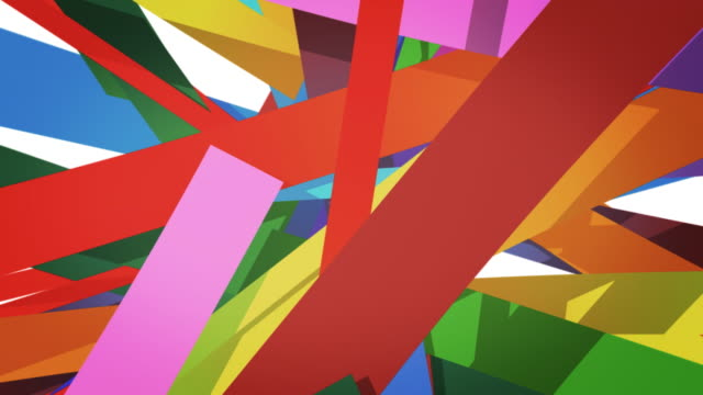 Colorful lines video