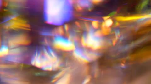 vidéos et rushes de coloré de focus vitrail - en verre