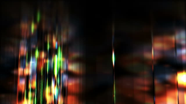 Colorful Panes of Glass Rotating video