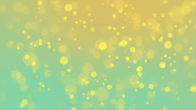 Fond de particules colorées - Vidéo