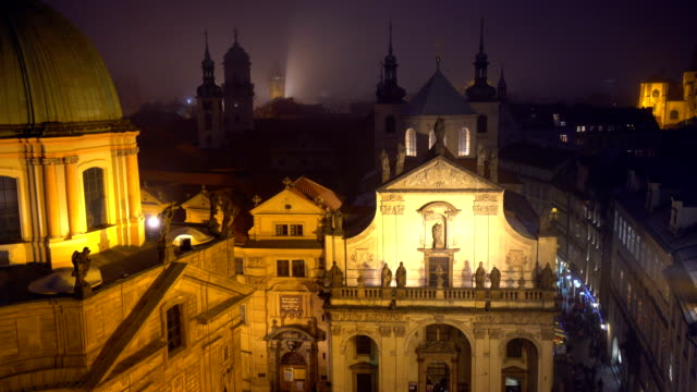 Colorful Prague, panning video