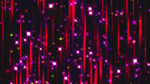 Colorful rain and glitter, computer generated. 3d rendering of luxury art background