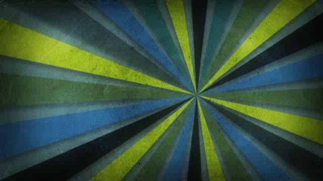 Colorful Retro Background video