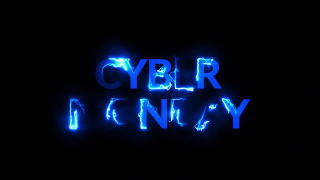красочные ретро кибер понедельник. неоновый свет анимации движения графического видео - cyber monday стоковые видео и кадры b-roll
