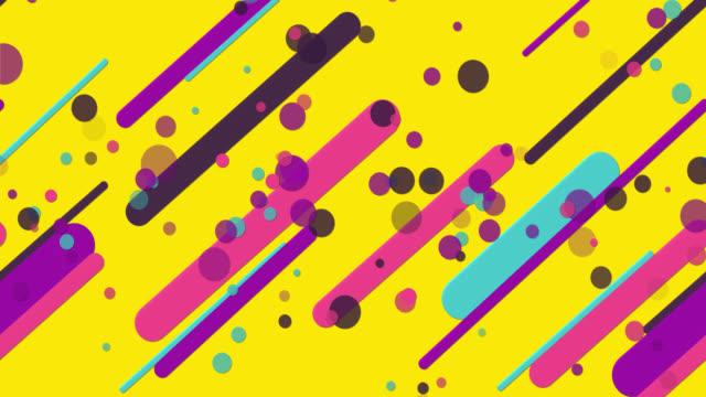 colorful seamless geometric patterns yellow background
