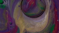 istock Colorful sparkling flowing bubbles. Abstract bright bubbles with fantastic backdrop design. Colors in motion. Macro shooting 4K video. 1187233439