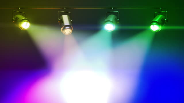 Colorful Spot Lights video