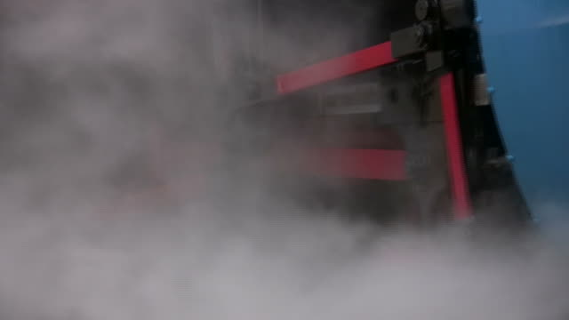 Colorful Steam Engine Close-up video