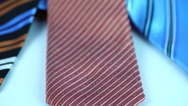 vídeos y material grabado en eventos de stock de colorida colección de brida - corbata