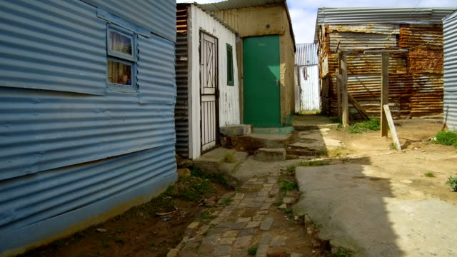 Colorful Townships of Africa Colorful Townships of Africa western cape province stock videos & royalty-free footage