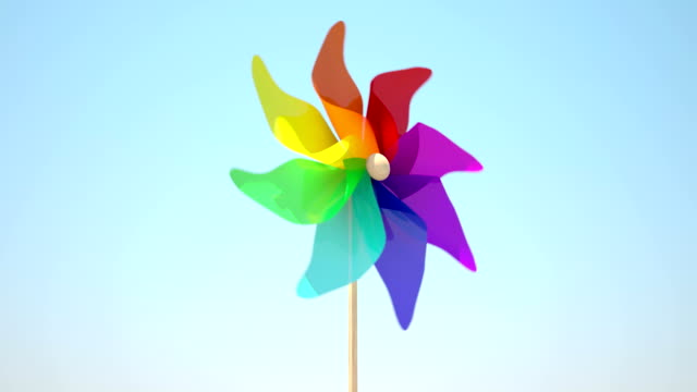 Colorful Windmill video