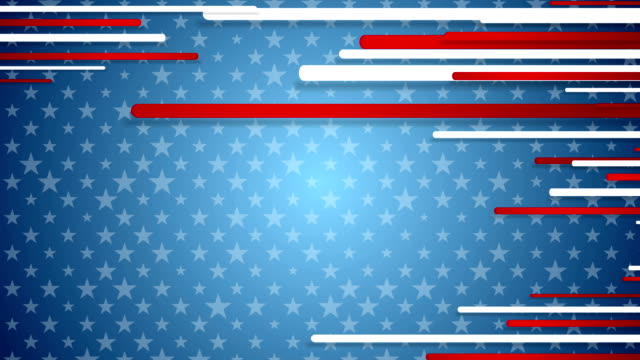 USA colors abstract video animation video