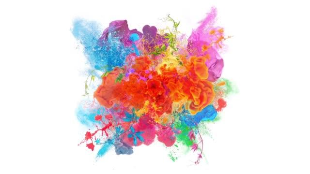 colors explosion - zagadnienia filmów i materiałów b-roll