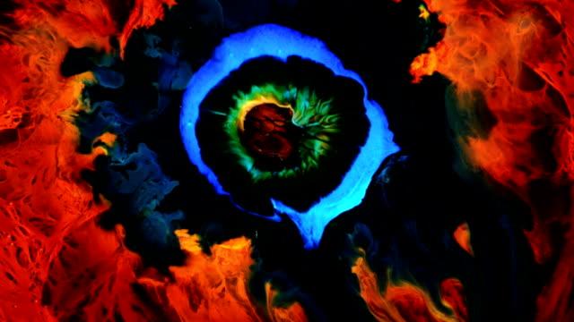 Colors hatch in an orange nest video