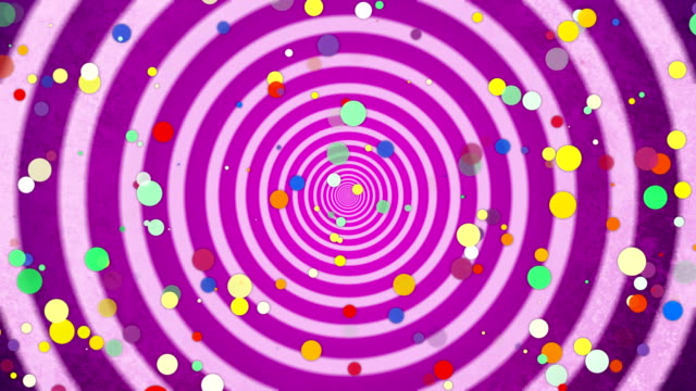 colors pop art abstract background animation - pop art video stock e b–roll