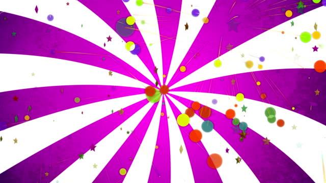 colors pop art background animation - pop art video stock e b–roll