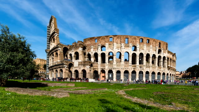 Colosseum Day Time Lapse video