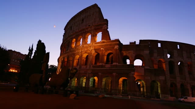 Colosseum in Rome, Italy video