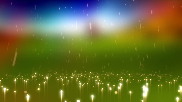 Colourful Abstract Light Rain Background Animation video
