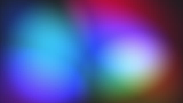 colourful glowing light animation background - sfondo multicolore video stock e b–roll