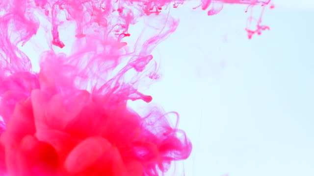 Colourful Ink Texture Background Colourful Ink Texture Background multi colored background stock videos & royalty-free footage